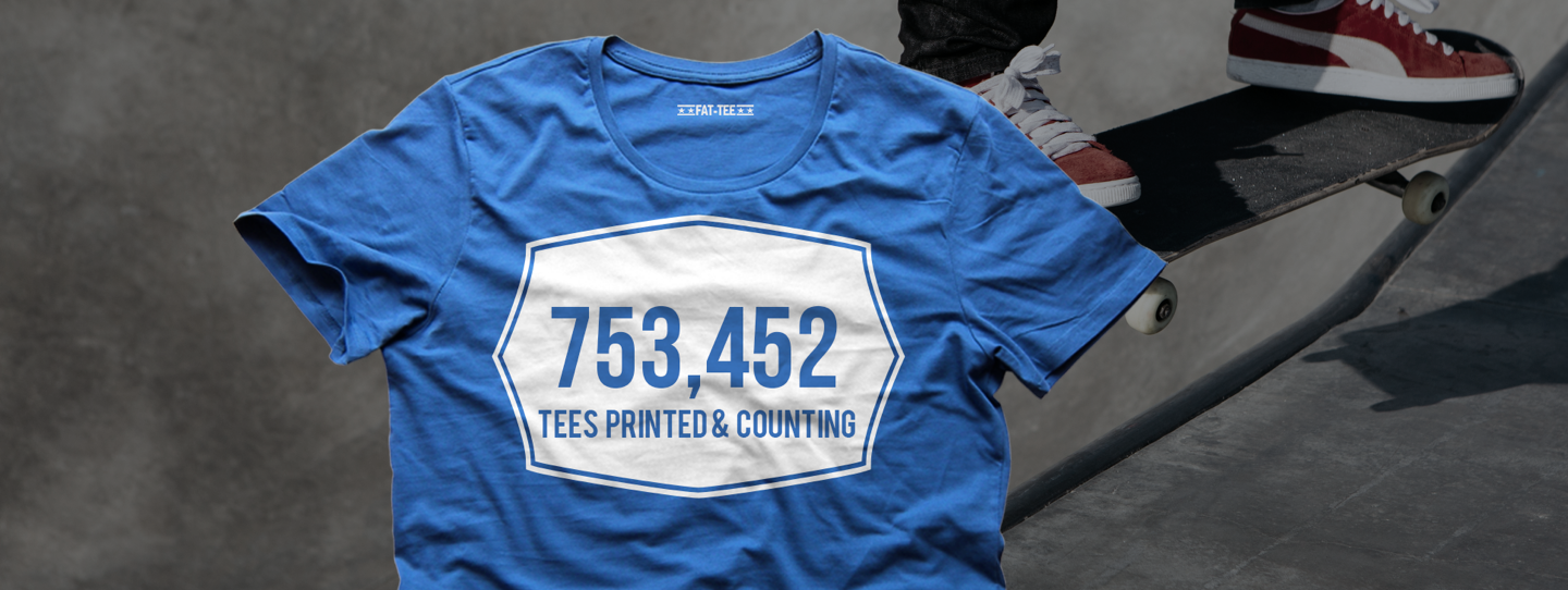 7,000,000 tees printed and counting